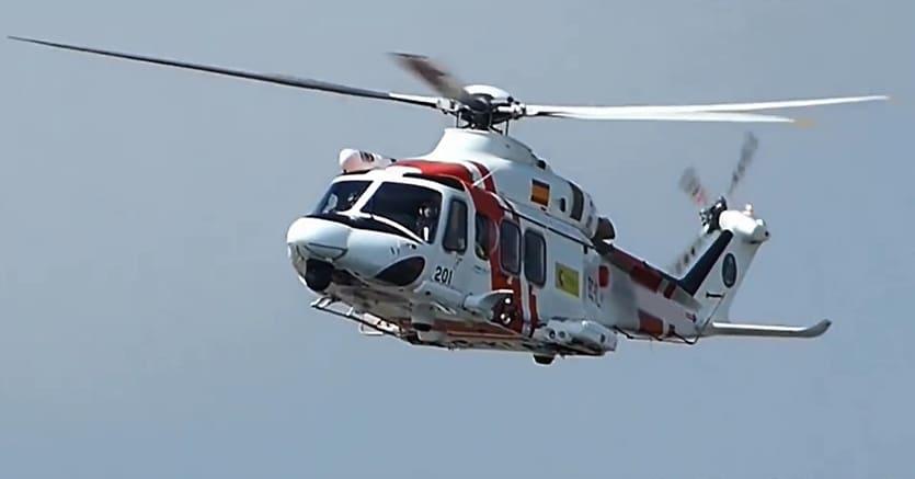 Sei in: Cronaca > L'Aquila, precipita un elicottero del 118