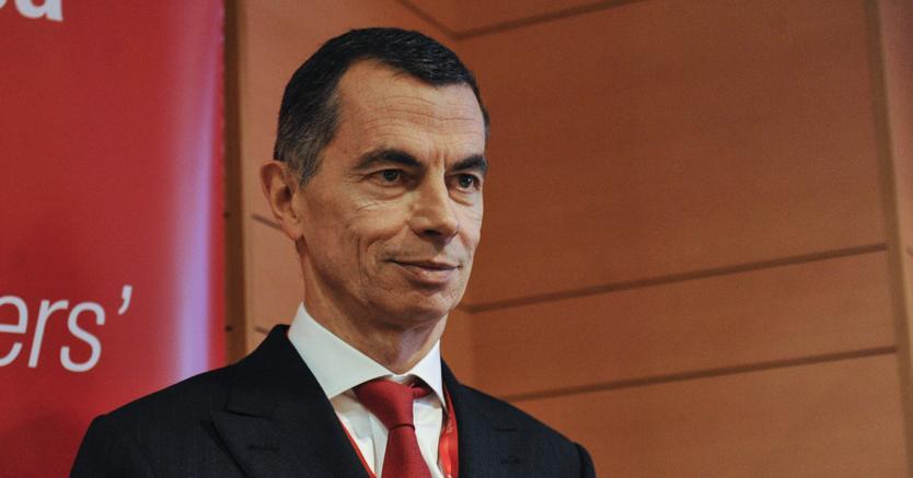 L'ad di Unicredit, Jean Pierre Mustier (Agf)