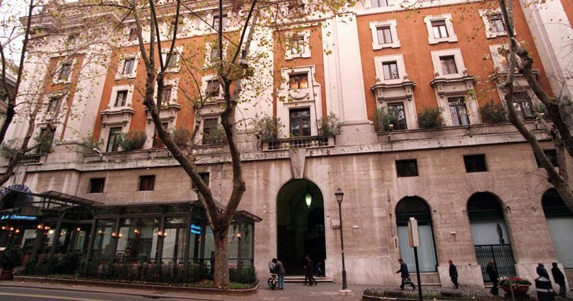 La sede dell'Iri a Via Veneto a Roma. (Ansa)