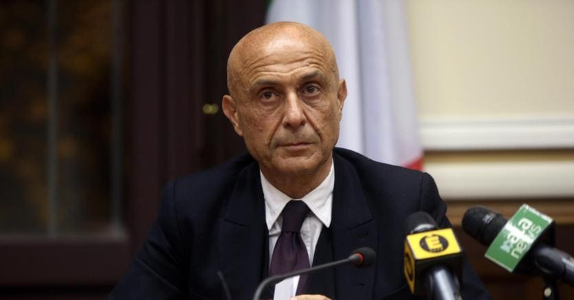Il Ministro dell'Interno Minniti:
