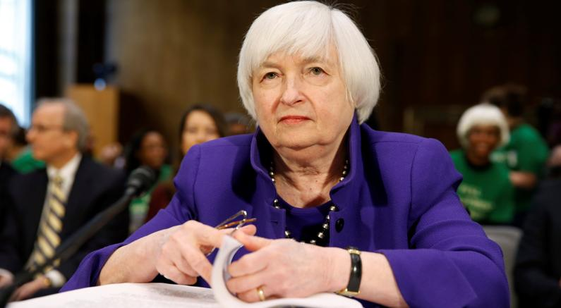 La Yellen reagisce al presidente Trump