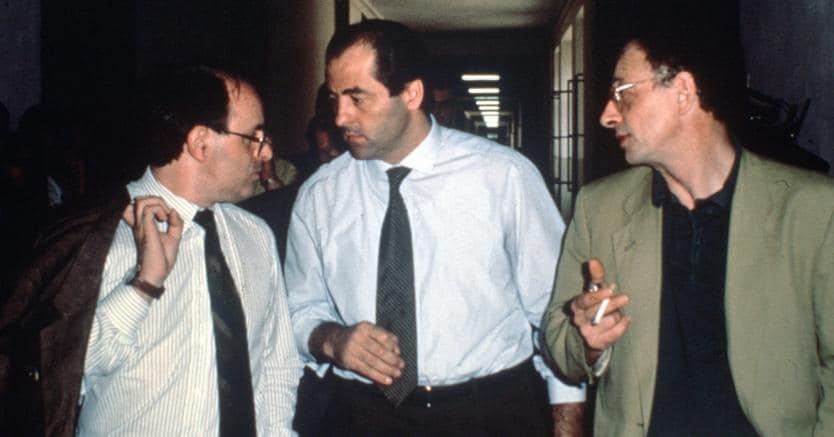 Piercamillo Davigo, Antonio Di Pietro, Gherardo Colombo (Fotogramma)
