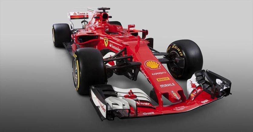 F1, presentata la nuova Ferrari SF70-H