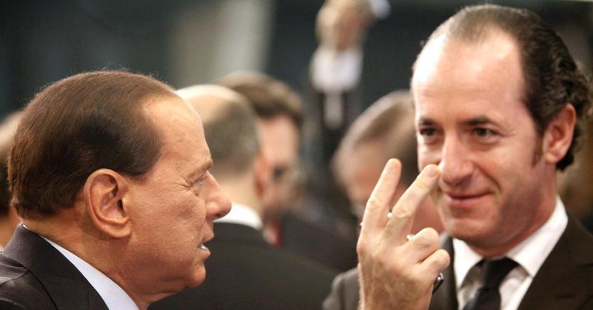 Salvini gela Berlusconi: no a Zaia leader ea doppia moneta