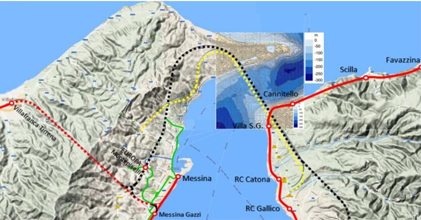 Stretto di messina ora spunta il progetto per un tunnel for Ponte delle cabine di rapsodia dei mari 2