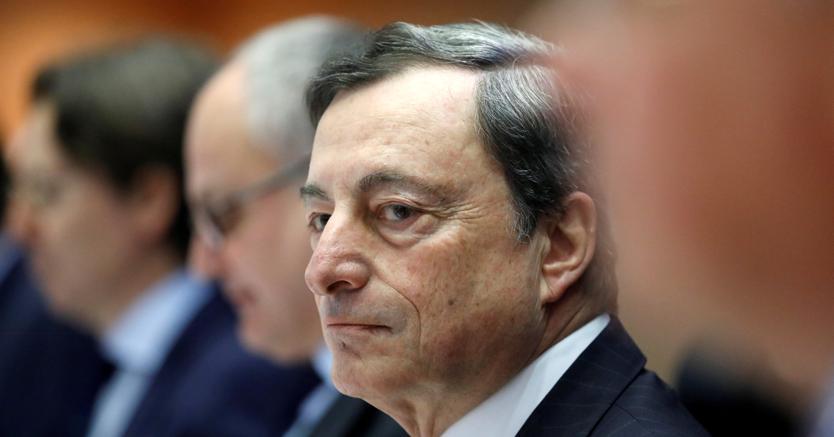 Draghi: meno rischi nella Ue, non servono nuovi stimoli