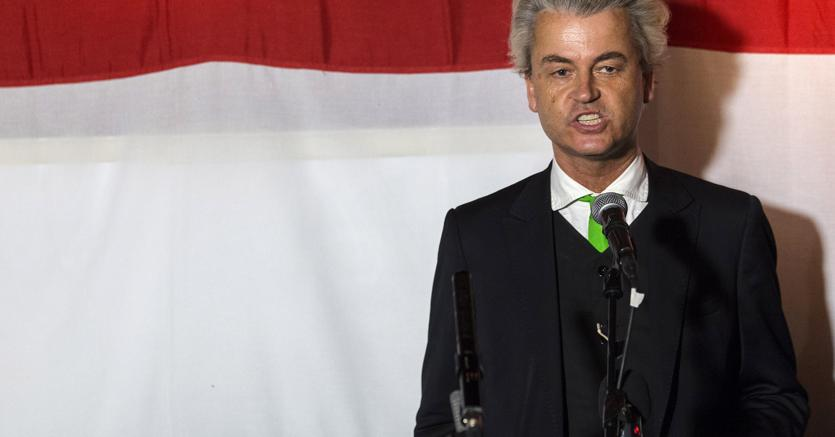 Geert Wilders, leader del partito olandese  anti-immigrazione PVV(Reuters)