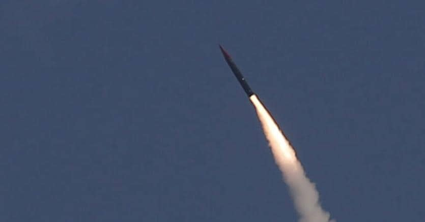 "Un missile balistico ""Arrow-3"" (Reuters)"