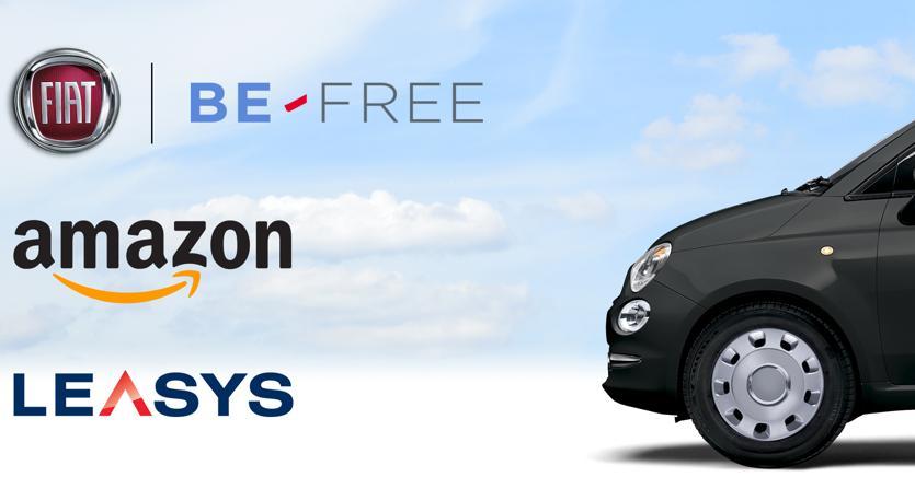 Fiat Be Free: mai pensato di noleggiare una 500 su Amazon?