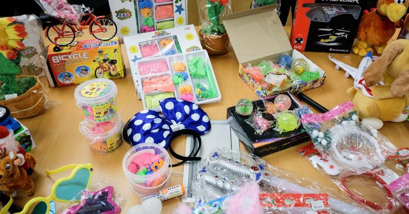 Torino, sequestrati a un importatore cinese 350mila giocattoli pericolosi