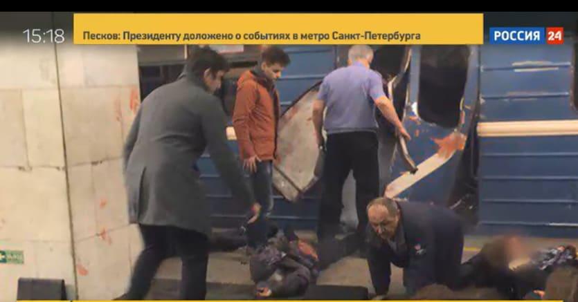 Strage in metro a San Pietroburgo, individuato il presunto responsabile