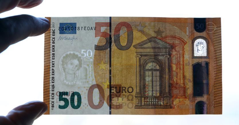 La nuova banconota da 50 euro