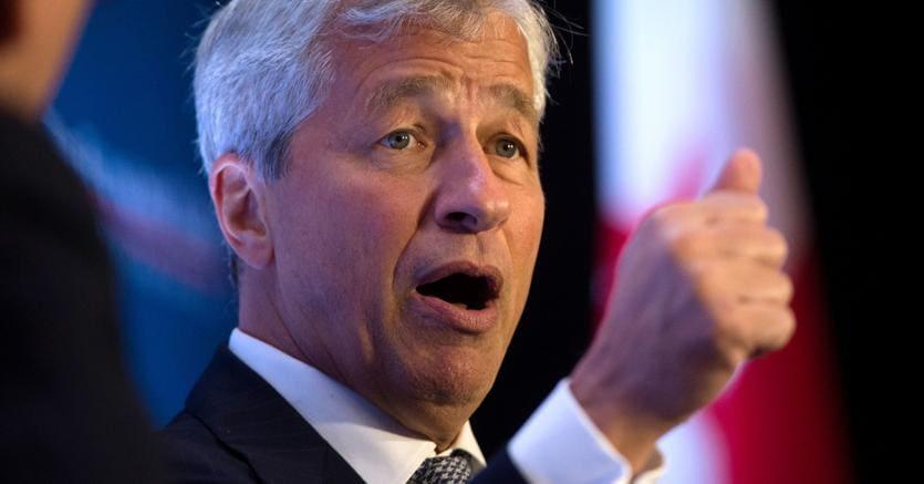 Jamie Dimon, CEO di JPMorgan Chase (Afp)