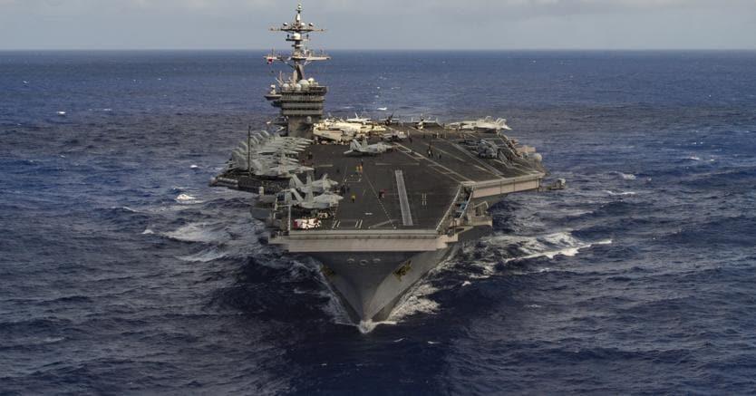 Fonti del Pentagono: portaerei Usa in viaggio verso la Nord Corea