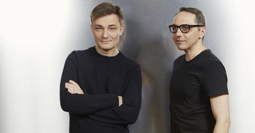 Gli stilisti Roberto Rimondi e Tommaso Aquilano