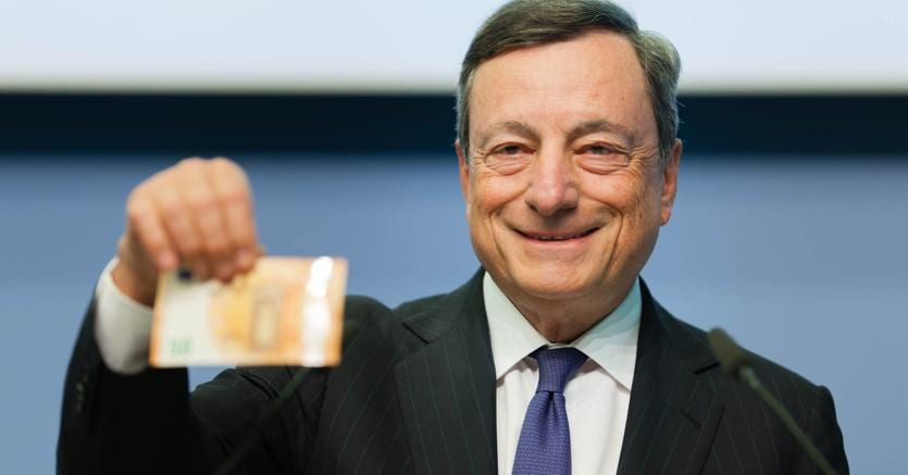 Draghi: l'euro è irrevocabile, lo sanciscono i Trattati europei