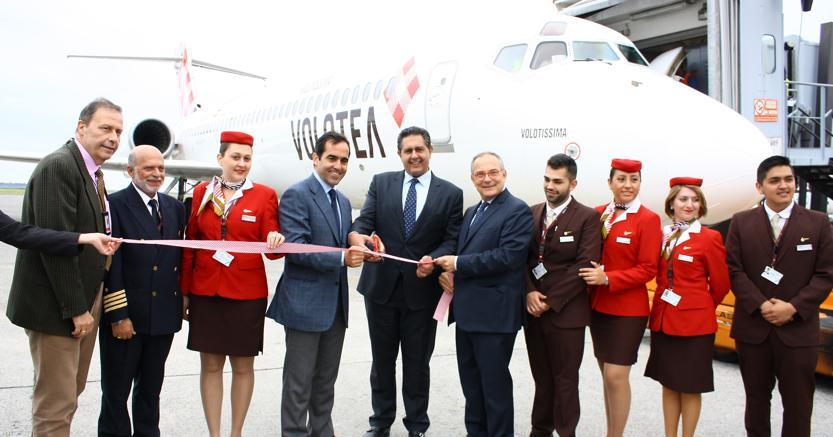 Aeroporti, Volotea inaugura una nuova base operativa a Genova