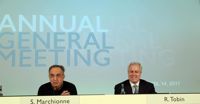 Fca, Marchionne: entro anno alleanza tecnologica importante