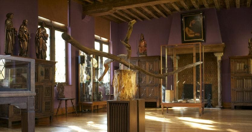 Exceptional Lu0027interno Di Una Delle Sale Della Casa Museo Di Erasmo Ad Anderlecht: Quella