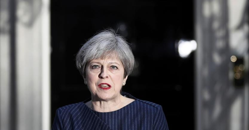 Theresa May  - Reuters