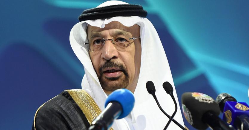 Il ministro saudita Khalid Al Falih (Afp)