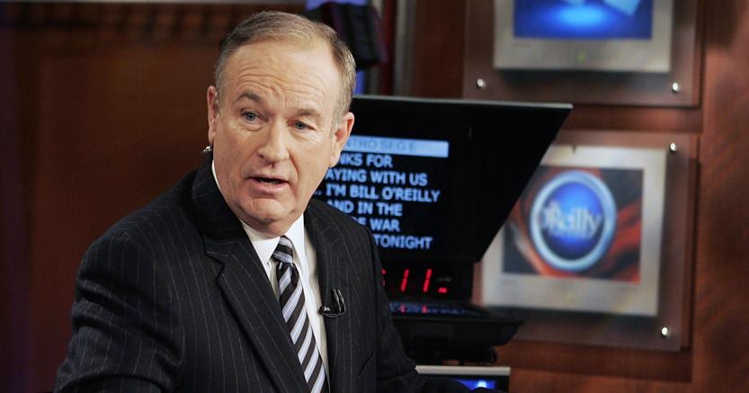 Fox News licenzia O'Reilly