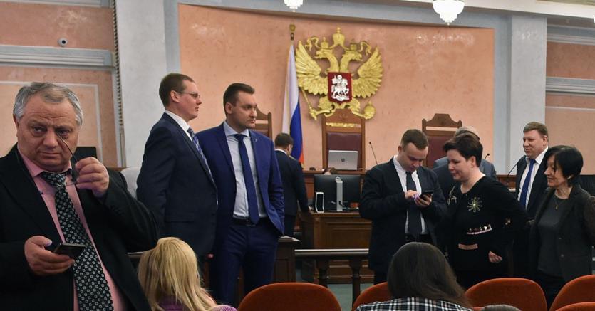 L'udienza presso la Corte Suprema a Mosca