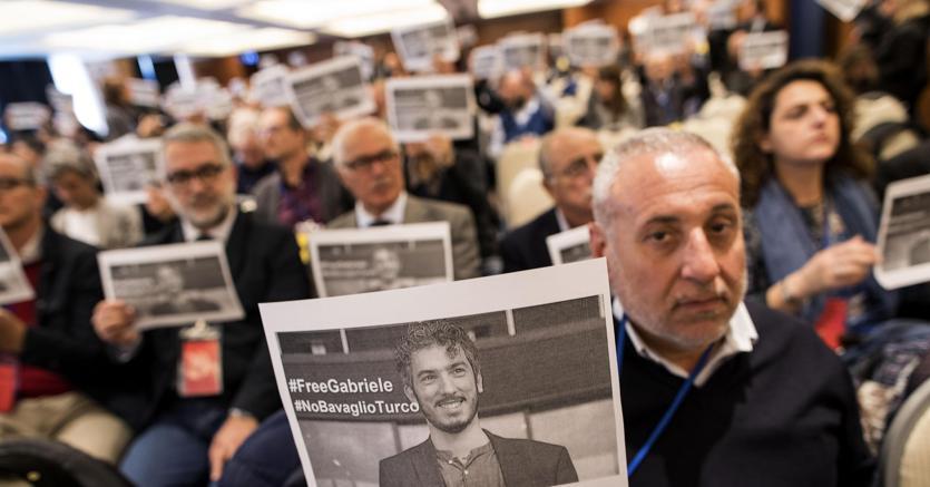 Gabriele Del Grande è libero, Alfano: