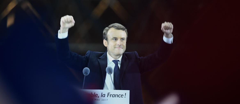 Macron presidente