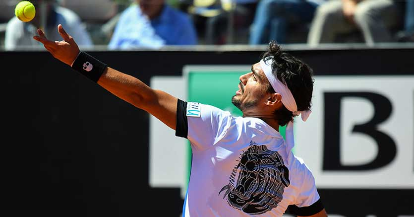 Straordinario Fabio Fognini. A Roma annienta Murray in due set