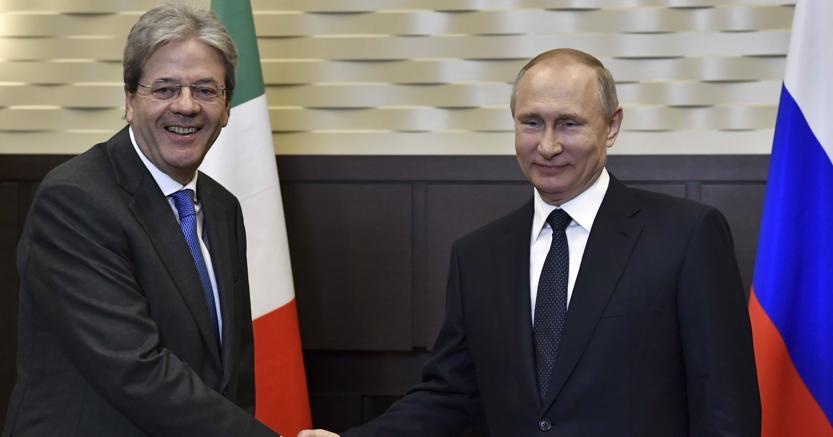 Incontro Putin - Gentiloni, questione di business