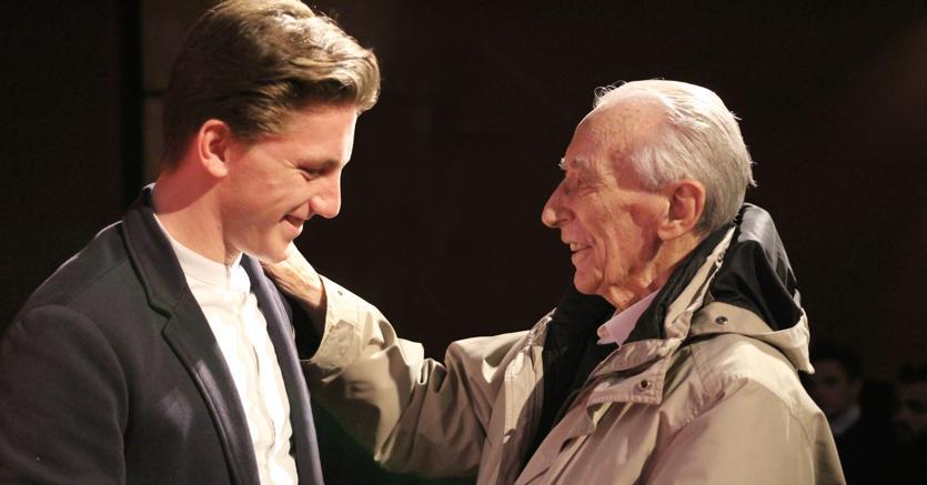 Franco Loi (a destra) e Francesco Guazzo