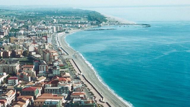 La spiaggia di Catanzaro