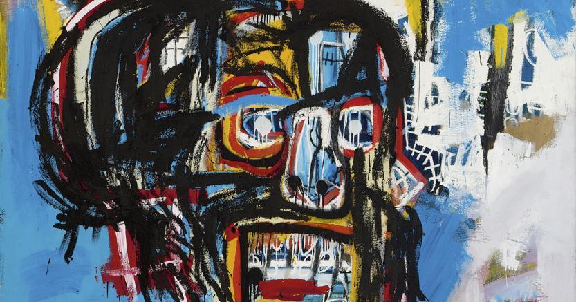 L'opera di Jean-Michel Basquiat, «Untitled» (Sotheby's via AP)