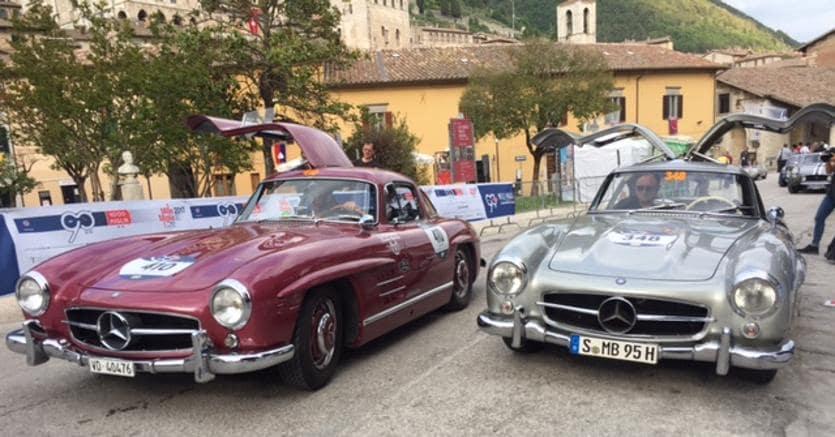 Ai bresciani Andrea Vesco e Andrea Guerrini la Mille Miglia 2017