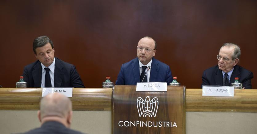 Confindustria, Boccia: preoccupano banche, serve maggioritario per stabilità