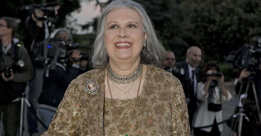 Roma, funerali di Laura Biagiotti: molti i vip presenti