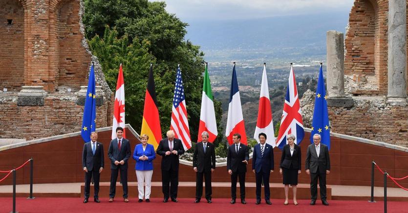 G7 Taormina. Nulla di fatto sul clima, Donald Trump ci penserà