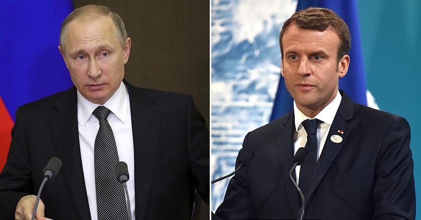 Putin e Macron, la strana alleanza contro le guerre commerci