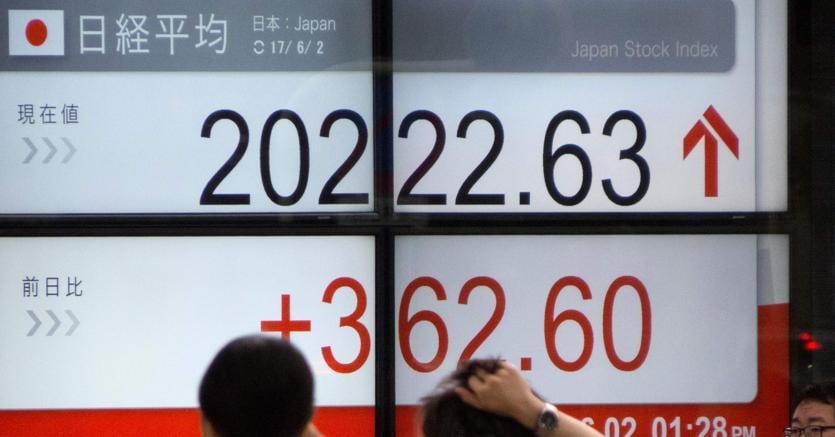 Borsa di Tokyo in deciso rialzo, Nikkei guadagna 1,60%