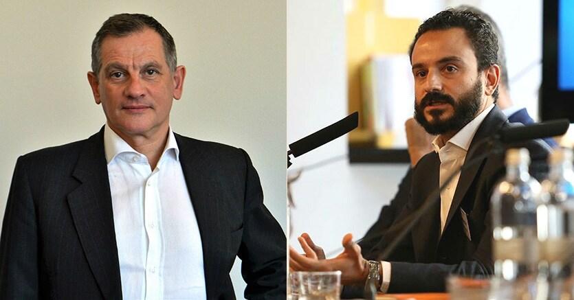 Marco Gandini (a sinistra) e Clemente Perrone