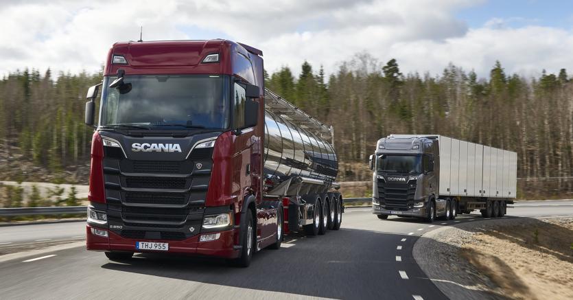 Scania arrivano i nuovi v8 euro 6 che fanno risparmiare - Foto di grandi camion ...