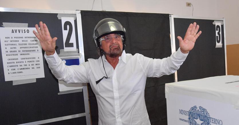 Il leader del Movimento 5 Stelle Beppe Grillo  (Ansa)