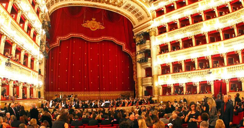 Teatro San Carlo di Napoli (Olycom)