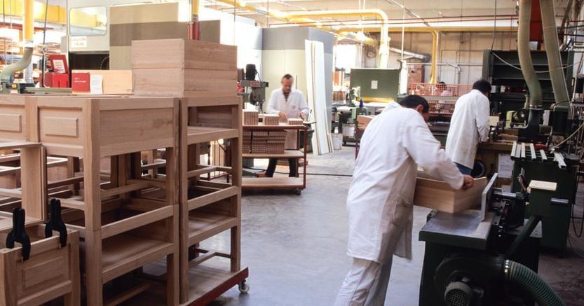 Legno arredo continua la corsa sui mercati esteri il for Ccnl legno e arredamento industria