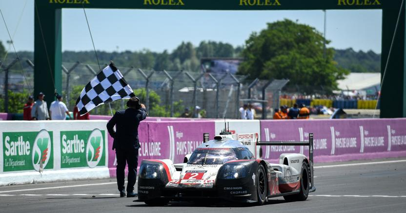 Porsche Trionfa a Le Mans 2017