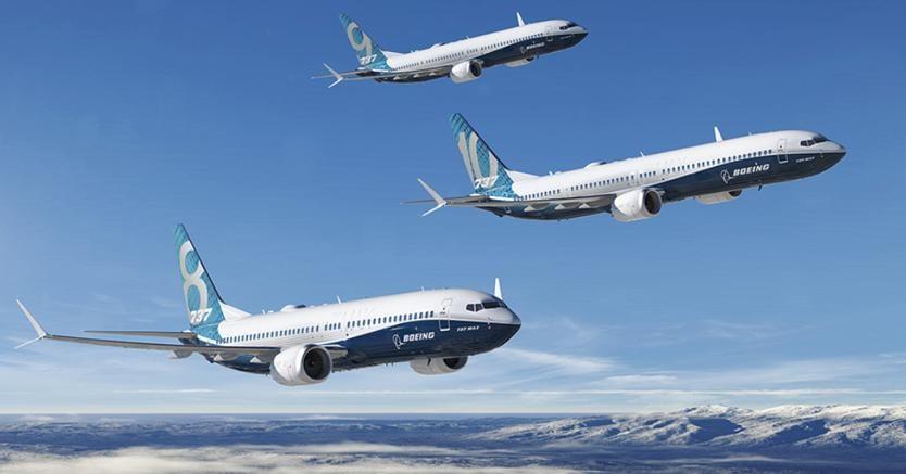 Aerei, pieno di ordini per Boeing Salone di Parigi con 737 Max