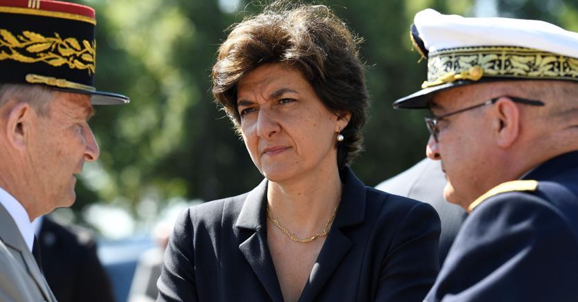 Il ministro della Difesa dimissionario, Sylvie Goulard (Afp)