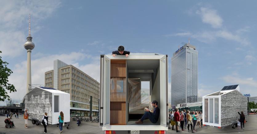 La casa con le ruote dell architetto marchigiano al museo di berlino il sole 24 ore - Lavoro architetto berlino ...