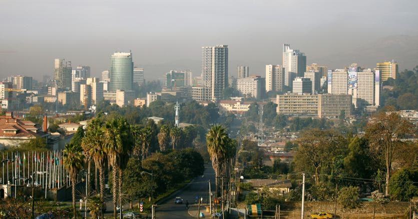 La capitale dell'Ethiopia, Addis Abeba (Reuters)